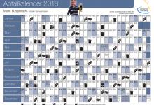 Abfallkalender 2018