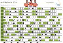 Abfallkalender 2019
